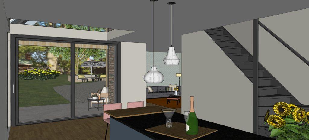 Eco-schuurwoning, project Op je stek, Zandweerd, gemeente Deventer, aanbieder Herman Harms